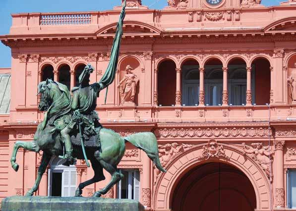 GENERAL BELGRANO MONUMENT, CASA ROSADA, BUENOS AIRES, ARGENTINA Terms & Conditions Deposit & Final Payment A $1,000-per-person deposit is required to reserve your space. Sign up online at alumni.