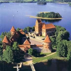 In the afternoon, OPTIONAL tour to Trakai, the medieval capital of Lithuania (Picture 9).