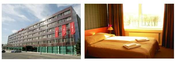 OPTION 1: Staying at 3* Hotels 2 nights in Vilnius Panorama hotel *** The Panorama hotel is located