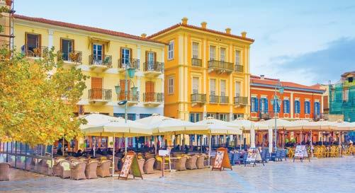 The northernmost Greek island, situated near the mouth of the Adriatic Sea, Corfu enjoys a rich cultural history marked by Italian, French, and British rule before officially joining Greece in 1864.