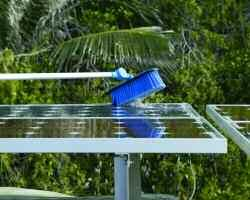 Using this system leaves no carbon footprint and conserves water, unlike