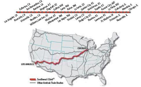 Southwest Chief Schedule The Philmont Scout