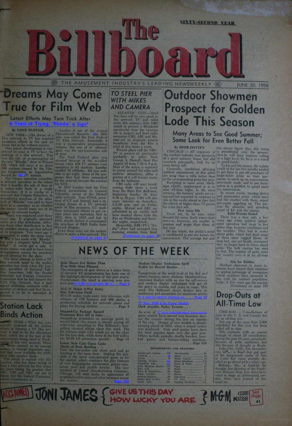 rirr www.americanradiohistory.com op THE AMUSEMENT NDUSTRY'S LEADNG NEWSWEEKLY 4BC> JUNE 30.