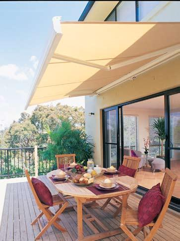 Models & Options New Zealand Window Shades Awnings offer fashion with praticality.