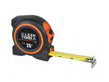 "Tape Measures Tape Measures Magnetic Rare earth magnets are 5x stronger! 93225 Additional Features: First 11"" (279 mm) has oversized, bold numbers (except 93275)."