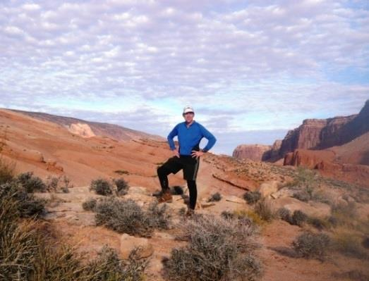 In another chapter I covered my love of running in Capitol Reef National Park, a great place to run in the winter. I ve also enjoyed running in Canyonlands and in the lowlands near Zion National Park.