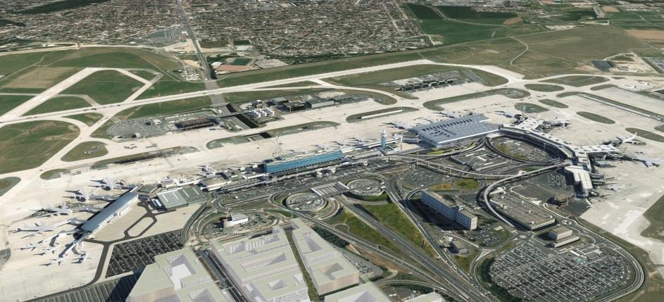 Paris-Orly to accommodate up to 32.