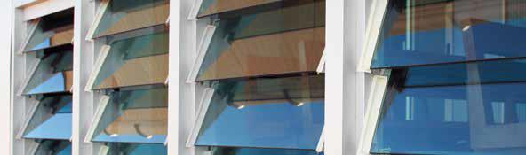 & mm Glass & Aluminium Clip Louvre Sets Standard Heights: Basic Installation Guide mm Thick Blade for mm Clip not more than mm L = x - mm mm Thick Blade for mm Clip not more than mm Channel fixed to