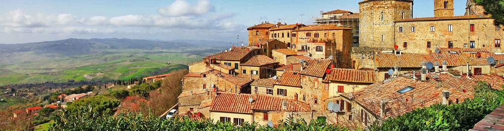 Only a few traces of the fortress remain, but it is worth the climb to enjoy the views. Volterra was originally settled by the Etruscans in 800 BC.