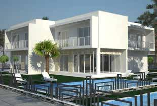 A variety of choices in the luxury villas and apartments You have the option to choose between the villas Sapphire, Iris, Celeste, Azure and Ultramarine, and enjoy your privacy, garden, pool and