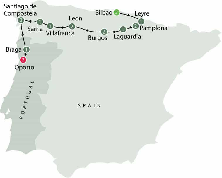 From $11,450 AUD Single $12,850 AUD Twin share $11,450 AUD 19 days Duration Europe Destination Level 3 - Moderate Activity Saint James Way Small Group Walking Tour (The Camino)- Spain 05 Jun 18 to 23