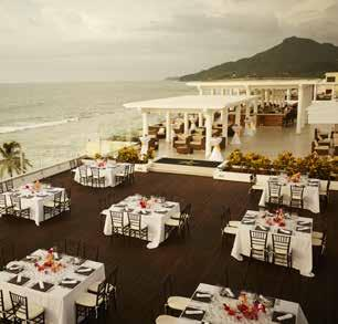 41'/7027 ft 2 14.90m x 44m/655 m 2 Pacific Foyer Groups pampered, too IBEROSTAR Playa Mita is the ultimate destination to hold any type of group event weddings, meetings or incentive trips.