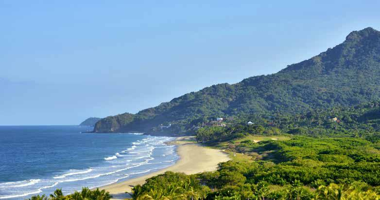 Surf the legendary swells at Sayulita, spot humpback whales in Banderas Bay, play golf, wander