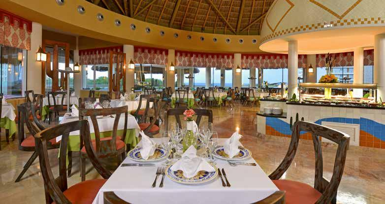 Passion for food Fine dining has become one of the hallmarks of IBEROSTAR.