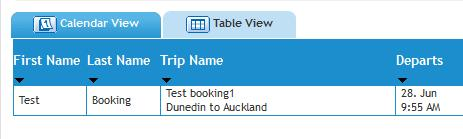 display planned or past trips under your login: To add accommodation, rental car, ground