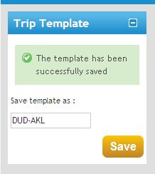 Trip Templates Guide, continued