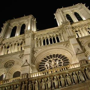 Included sightseeing with a local expert starts with an inside visit to Notre