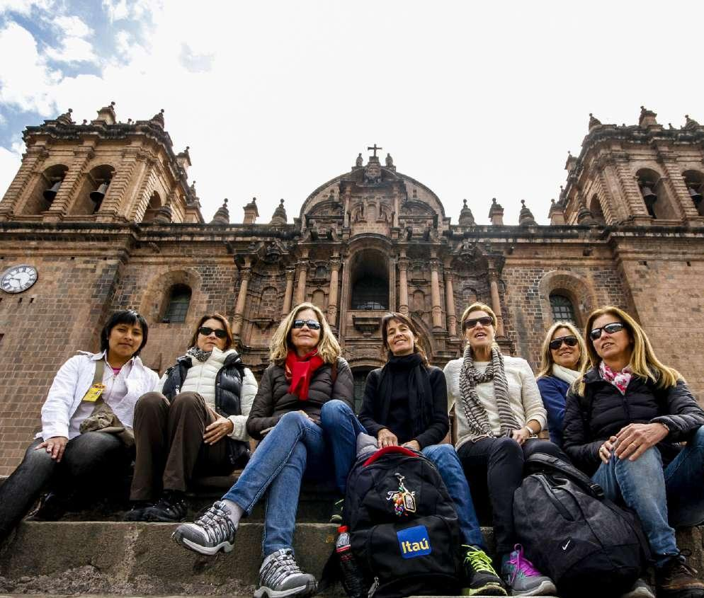 City tour Cusco Full day tour DESCRIPTION Be inspired as you walk through the ancestral streets and plazas of Cusco!