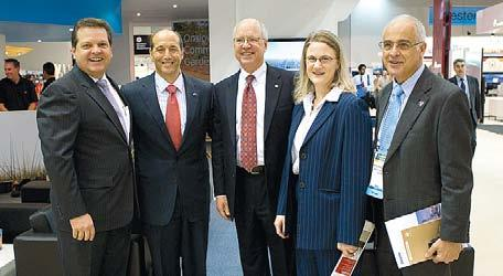 Roy Krzywosinski Chevron Australia Managing Director Chevron Australia Managing Director Roy Krzywosinski, left, at APPEA with, from left, US Ambassador Jeffrey Bleich, Chevron Vice