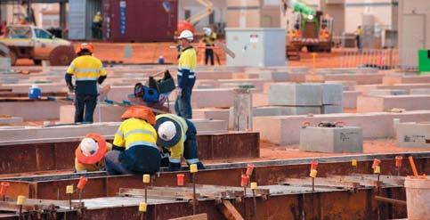 Creating Local Jobs Gorgon Making Progress and Growing the Local Workforce The workforce on Barrow Island continues to grow as the Gorgon Project gathers momentum and strives towards first gas in