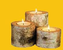 COM EASY TO CLEAN DECO LOGS 100% NATURAL AND