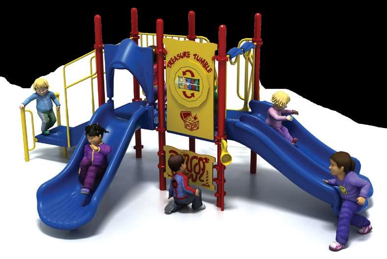 PSS-902 Challengers 2,819! 6,699 7,599 List: 9,518 Fun-Filled Play Events... 7 Capacity...Up to 23 children ages 2-5 Size... 17 x 14 x 8 (5,1m x 4,1m x 2,5m) Use Zone... 29 x 26 (8,8m x 7.8m) Weight.