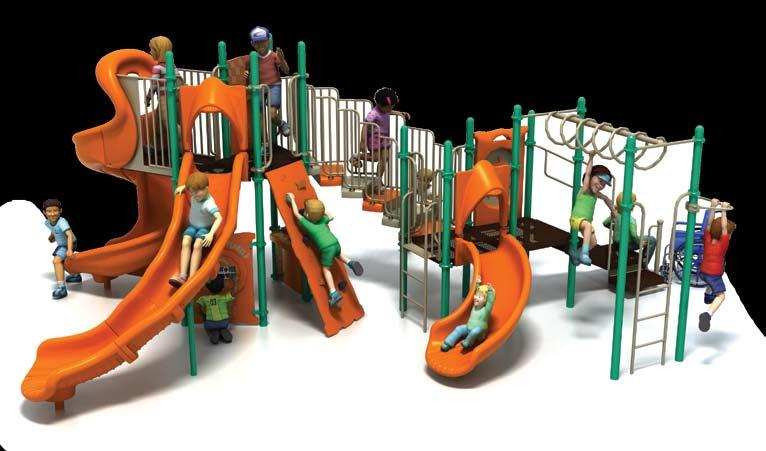 PSS-909 Challengers 6,606! 3 15,449 17,699 List: 22,055 Fun-Filled Play Events... 11 Capacity...Up to 34 children ages 5-12 Size... 27 x 21 x 11 (8m x 6,3m x 3,4m) Use Zone.