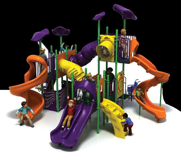 PSS-914 Challengers 10,607! 7 24,749 28,299 List: 35,356 Fun-Filled Play Events... 20 Capacity...Up to 60 children ages 5-12 Size... 23 x 26 x 18 (7,1m x 7,9m x 5,5m) Use Zone.