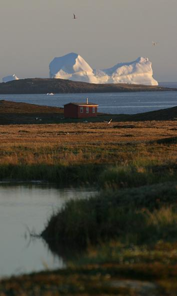 Adaption to Climate changes A report about the effects of climate changes will be made for all major sectors in Greenland First sector to undergo the evaluation was hunting and fishing The