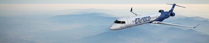 60- TO 220-SEAT COMPETITIVE LANDSCAPE In production In development Under study TURBOPROPS 60- TO 100-SEAT REGIONAL JETS 100- TO 150-SEAT 150- TO 220-SEAT MATURE OEMS EMERGING OEMS Q400 CRJ700 CRJ900