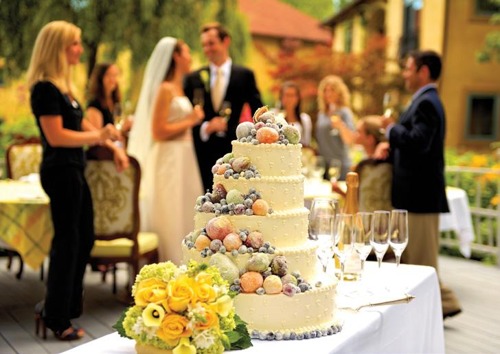 Wedding Amenities A dedicated wedding and event planner to guide you every step of the way Ceremony site