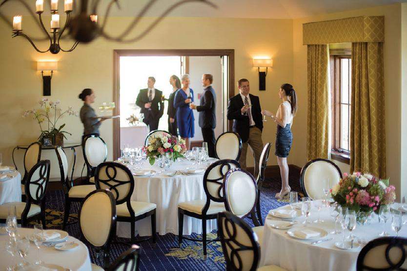 guest rooms and suites, Spa Mirbeau, Henri-Marie fine dining restaurant, and the