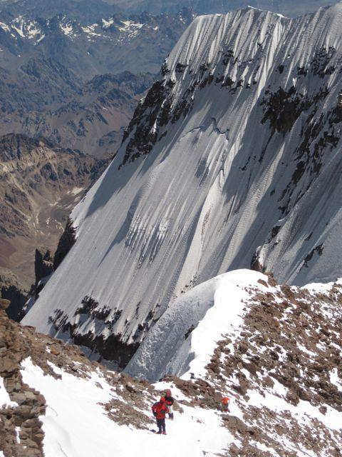 DAY 15 PENITENTES Today we descend back to Base Camp and have a celebratory dinner, a hot shower, and plenty of rest