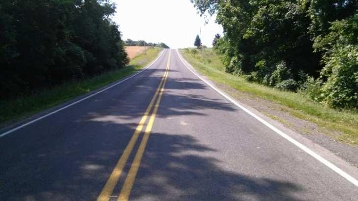Preferred Alignment Features Brickyard Road; Stay within the Right of Way (66 ft.