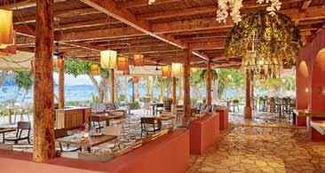Dining and Bars... The Daphnila Bay offers a wide range of show cookery in the main buffet style restaurant.
