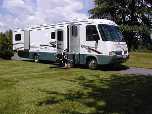 Camping facilities Parking spaces within accessible camping units RV space 20 feet wide minimum, exception for 16 feet where two adjacent