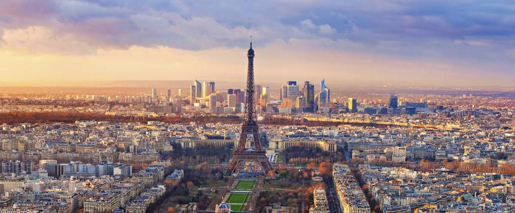 London is the most important feeder city for Paris in terms of visitors.