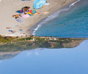 To the west, the Messinian peninsula has the best beaches, is much greener with a gentler landscape and has its fair share
