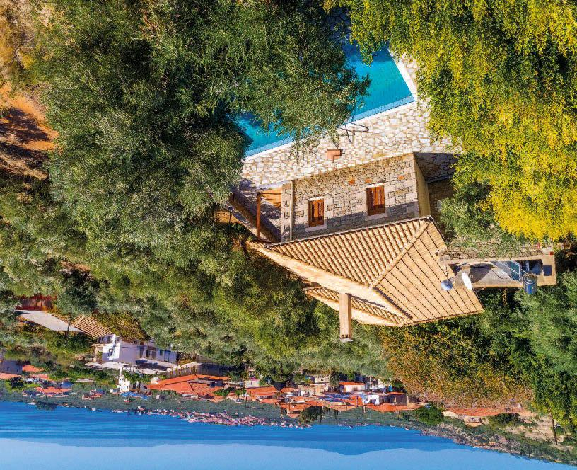V I L L A I B I S C U S A G I O S N I K O L A O S P E L O P O N N E S E Amidst a gentle hillside of olive trees, Villa Ibiscus has been handpicked by our team for its splendid views and
