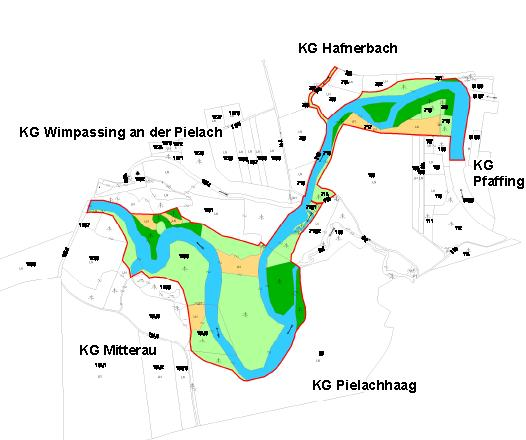 Neubach floodplain and alluvial forest (River Pielach; LIFE Danube salmon) In the lower section of River Pielach there are only few natural stretches left.