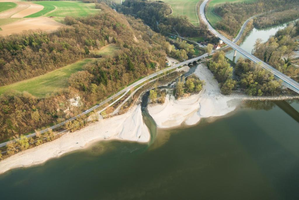 Restoration of the mouth of River Pielach (LIFE Mostviertel- Wachau) Improvement of the fish passage from River Danube into River Pielach by extending the Pielach section at the mouth.