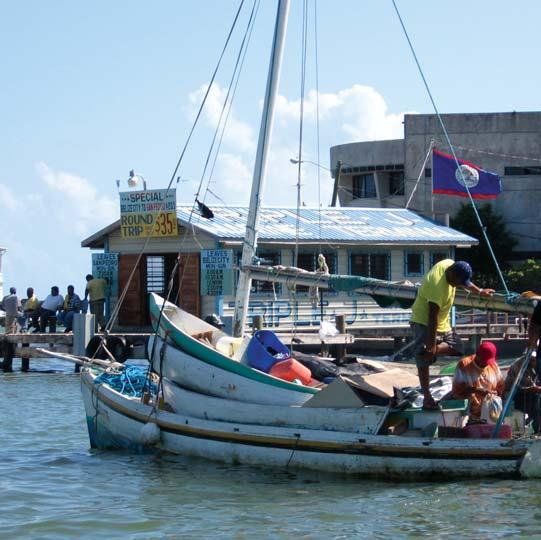 Fishing is an important cultural tradition, as well as a safety net and livelihood for many coastal Belizeans.