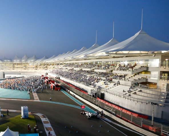 biggest events in the Middle East, FORMULA 1 ETIHAD AIRWAYS ABU DHABI GRAND PRIX.