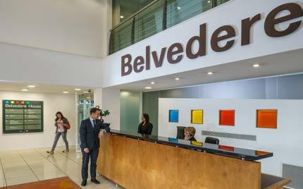 Belvedere House A wide variety of spacious suites The property is a significant corporate office facility totalling 118,000 sq ft.