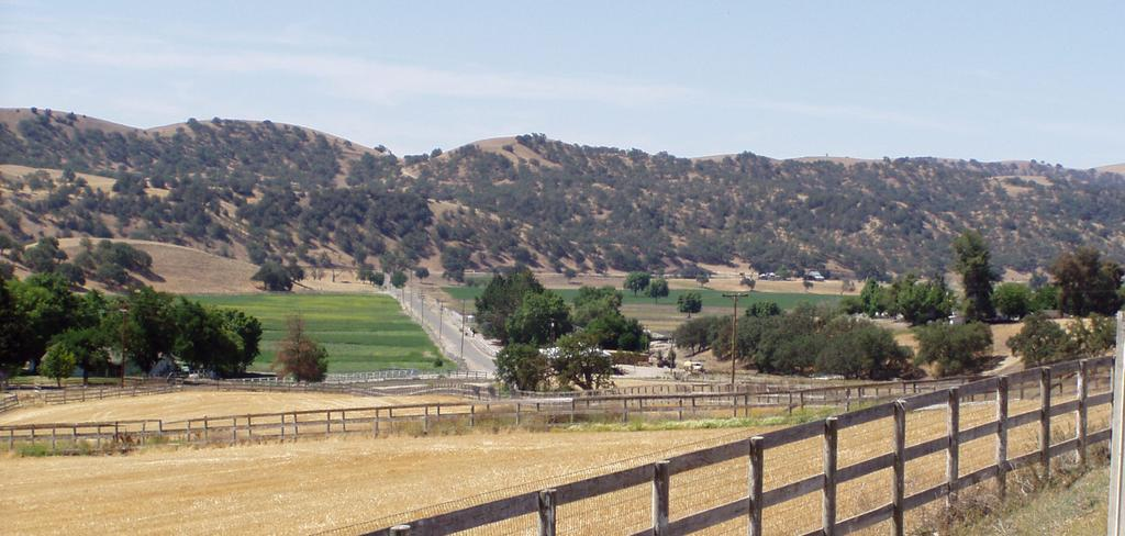 Improvements Cont d FENCING/ROADS: The ranch is extensively fenced with wood fencing, including multiple fenced horse pens and pastures.