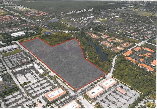 of Park of Commerce; BTW Corporate Road North and South, Jupiter, FL 33478 Size: 20.