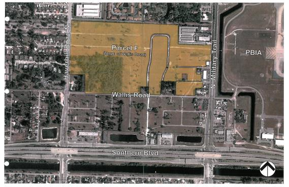 Palm Beach International Airport Parcel F Location: North of Wallis Road between Haverhill Road and Military Trail, West Palm Beach, FL 33406 Size: 57.