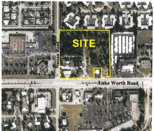 9133 acres Future Land Use Designation: Commercial Approved Uses: 105,000 sf Professional Office; 15,000 sf Retail Total Project Square Footage: