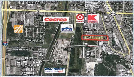 Watertower Business Park Location: 1100 Old Dixie Highway, Lake Park, FL 33403 Size: 10.