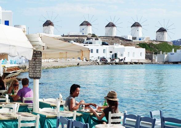 It s one of the most famous and cosmopolitan of the Greek islands.